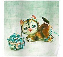 Kitty Mischief Poster
