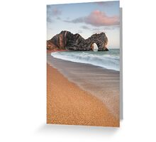 Durdle Door Breakers Greeting Card