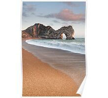 Durdle Door Breakers Poster