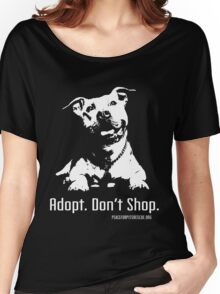 Adopt Dont Shop P4P apparel Women's Relaxed Fit T-Shirt