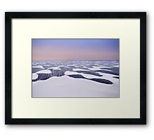 Pure wind Framed Print