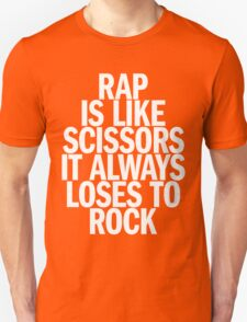 Rap vs Rock T-Shirt