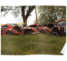Automobile Graveyard No 6 Poster
