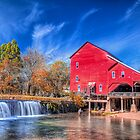 Rockbridge Grist Mill by Jerry E Shelton
