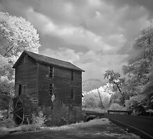 Blowing Cave Mill IR by Jerry E Shelton