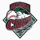 Altoona Curve baseball logos T-Shirts ,Stickers by boomer321sasha