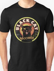 Black Cat LP Art Deco Unisex T-Shirt