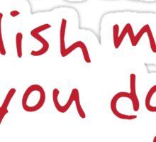 English Major Sticker
