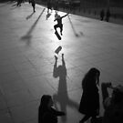 Skateboarding Shadow by MichaelCouacaud