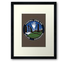 Mission to Isengard Framed Print