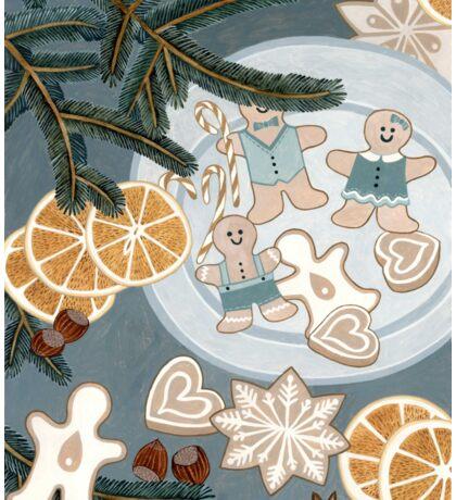 Gingerbread Man Cookies Sticker