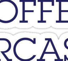 coffee,sarcasm,lipstick Sticker