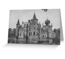 Cleydael Castle - near Antwerp  Greeting Card