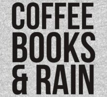 COFFEE BOOKS & RAIN by mralan