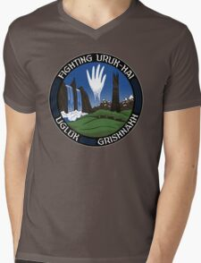 Mission to Isengard Mens V-Neck T-Shirt