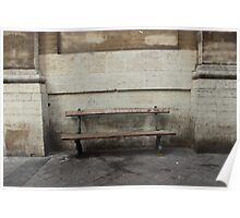 City bench Poster