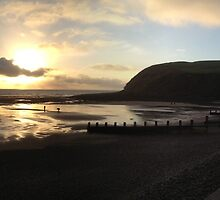 St. Bees Head at sunset by GeorgeOne