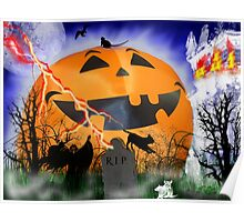 The Very Happy Great  Pumpkin Poster