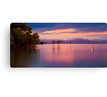 Pink sunset at Orpheus Island Canvas Print
