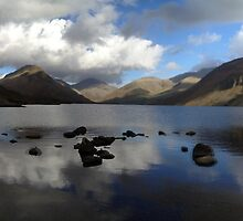 Wast Water panorama by GeorgeOne