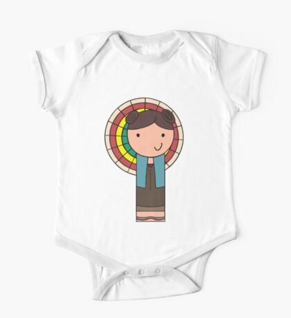 Kaylee Kokeshi Doll  One Piece - Short Sleeve