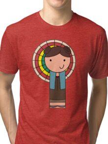 Kaylee Kokeshi Doll  Tri-blend T-Shirt