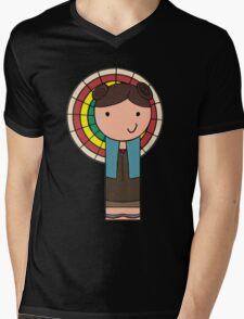 Kaylee Kokeshi Doll  Mens V-Neck T-Shirt