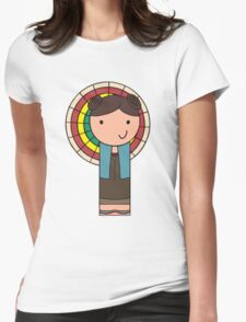 Kaylee Kokeshi Doll  Womens Fitted T-Shirt