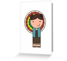 Kaylee Kokeshi Doll  Greeting Card
