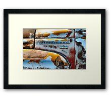 R180 - The B Side Framed Print