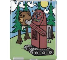 Teddy Bear And Bunny - I Did Good? iPad Case/Skin