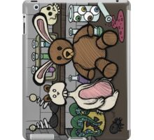 Teddy Bear and Bunny - Lab Experiments 2 iPad Case/Skin