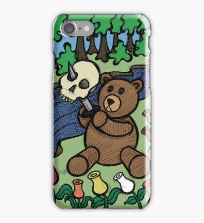 Teddy Bear And Bunny - Apple Of My Eye iPhone Case/Skin
