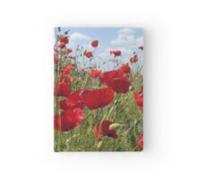 Poppies Will Make You Sleep Hardcover Journal
