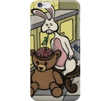 Teddy Bear And Bunny - Slushie iPhone Case/Skin