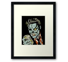 Hell to the King Framed Print
