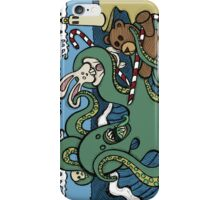 Teddy Bear And Bunny - Epic Battle iPhone Case/Skin