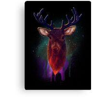 Galaxy Stag Canvas Print
