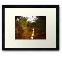 Beautiful Canal Framed Print