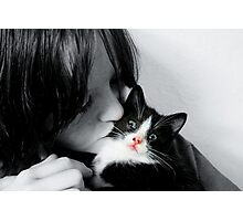 It Must Be Love,Love,Love Photographic Print