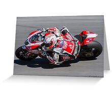 Niccolò Canepa at Laguna Seca 2013 Greeting Card