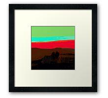 Sunset at Egremni  Framed Print