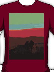 Sunset at Egremni  T-Shirt