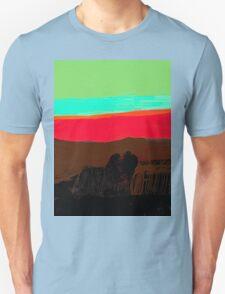 Sunset at Egremni  Unisex T-Shirt