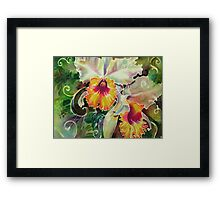 Orchid Series 9 Framed Print