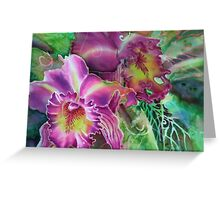 Orchid Series 10 Greeting Card