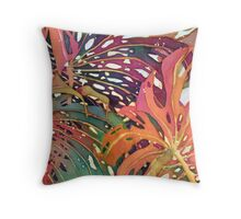 Palm Patterns 1 Throw Pillow