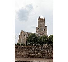 St Mary the Virgin and All Saints Church, Fotheringhay Photographic Print
