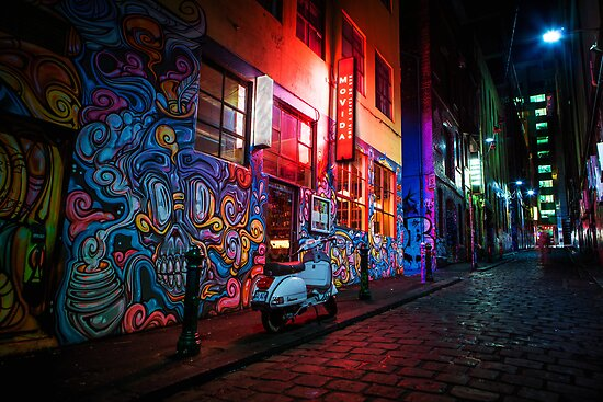 Hosier Lane by jamjarphotos