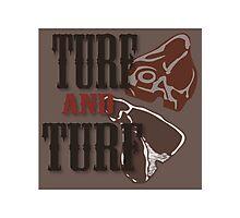 Turf and Turf Photographic Print